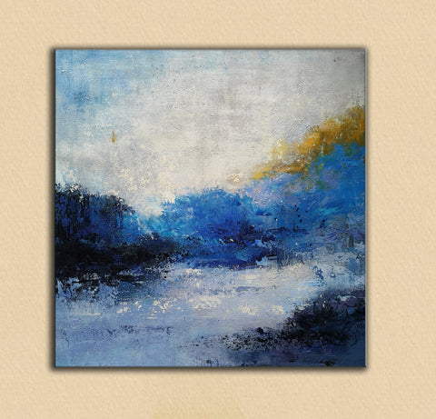 Image of abstract canvas art OilPaintingFrom