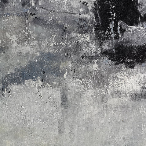 Image of Black and white paintings | Black and white art | Black and white abstract art F3-4