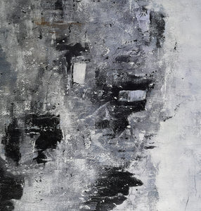 Black and white paintings | Black and white art | Black and white abstract art F3-5