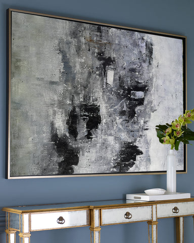 Image of Black and white paintings | Black and white art | Black and white abstract art F3-9