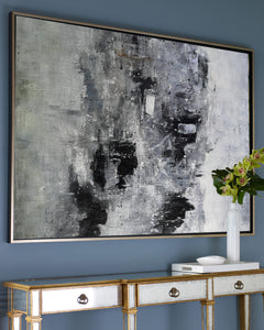 Black and white paintings | Black and white art | Black and white abstract art F3-9