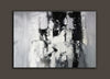 Painting art | Black and white canvas painting F4-7