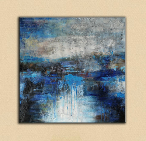 Image of abstract canvas art