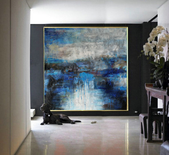 Large canvas wall | Original abstract paintings F7-1