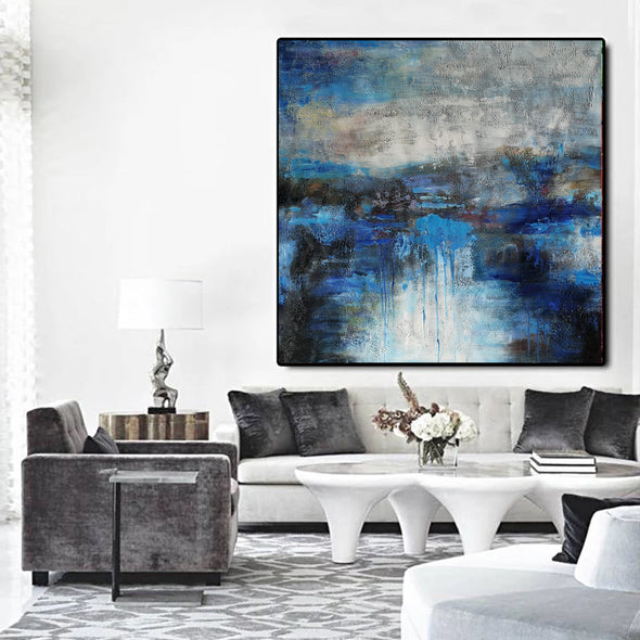 Large canvas wall | Original abstract paintings F7-2