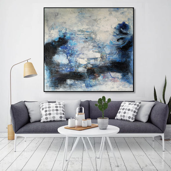 Wall art painting | Oil painting on canvas | Abstract acrylic painting F8-2