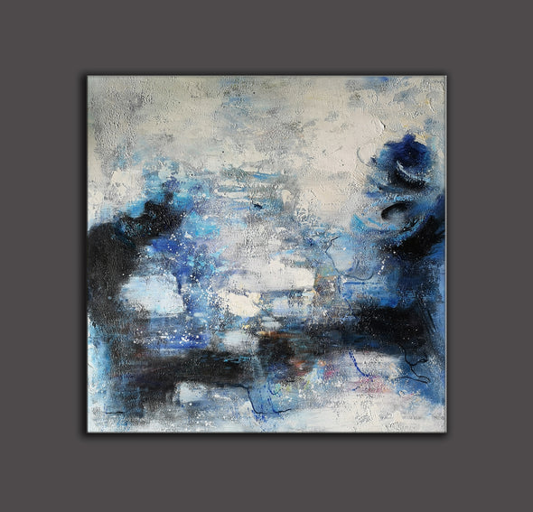 Wall art painting | Oil painting on canvas | Abstract acrylic painting F8-6