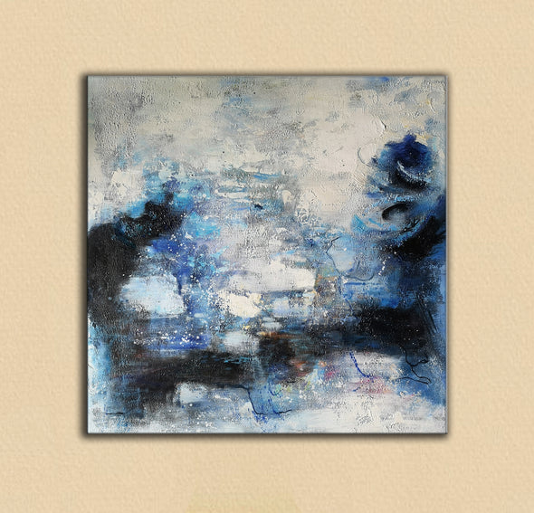 Wall art painting | Oil painting on canvas | Abstract acrylic painting F8-7