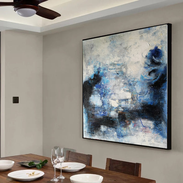Wall art painting | Oil painting on canvas | Abstract acrylic painting F8-9