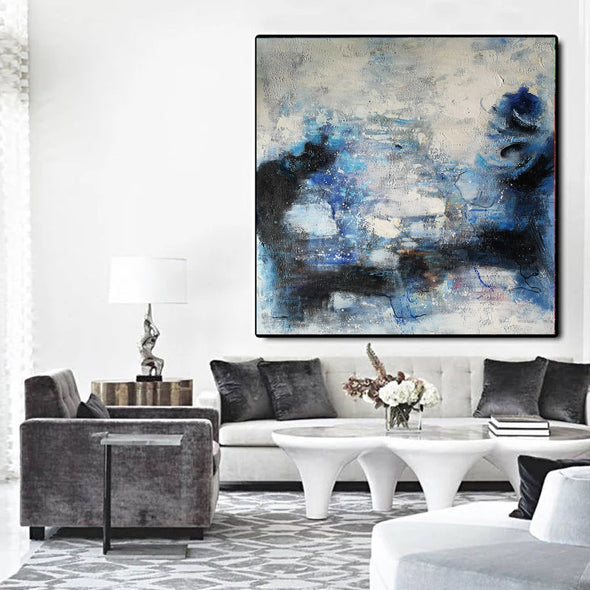Wall art painting | Oil painting on canvas | Abstract acrylic painting F8-1