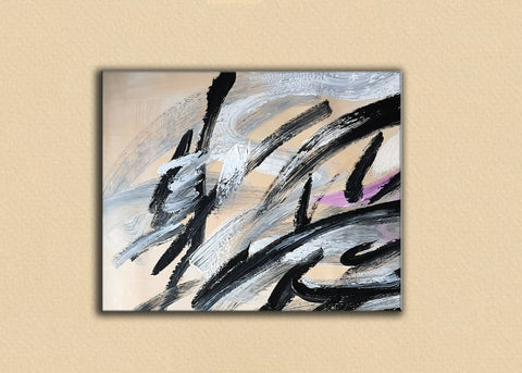 Image of An abstract artwork | Acrylic abstract paintings | Paintings of abstracts F15-7