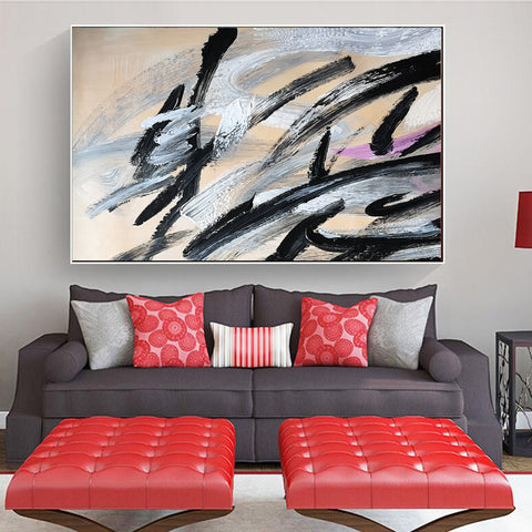 Image of An abstract artwork | Acrylic abstract paintings | Paintings of abstracts F15-9