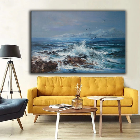 Abstract oil painting | Modern canvas art F20-2