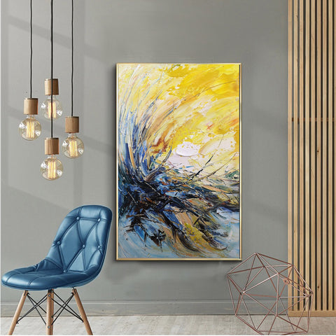 Image of Modern wall art | Modern paintings | Abstract wall art F24-1