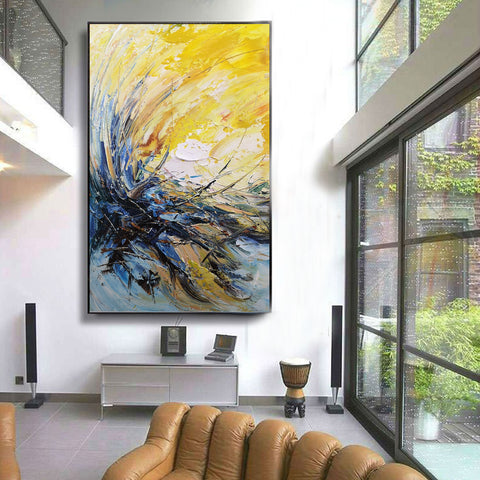 Image of Modern wall art | Modern paintings | Abstract wall art F24-8