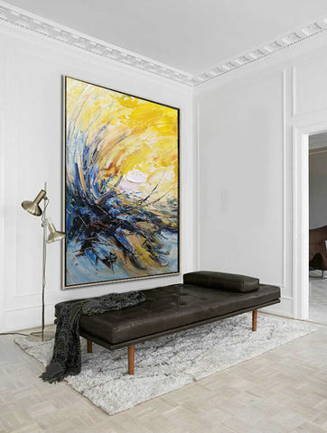 Image of Modern wall art | Modern paintings | Abstract wall art F24-2