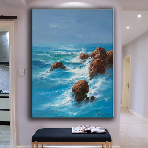 Image of Wall art painting | Large paintings | Large painting canvas F28-8
