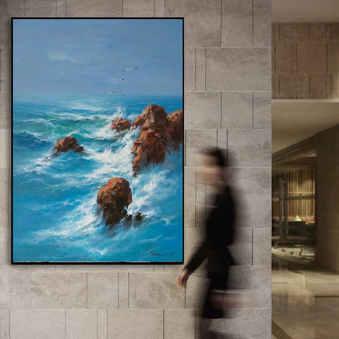 Image of Wall art painting | Large paintings | Large painting canvas F28-9