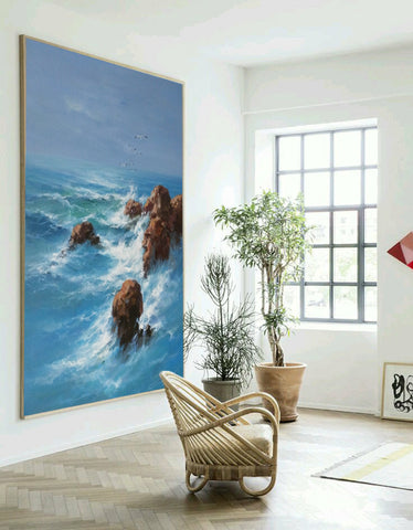 Image of Wall art painting | Large paintings | Large painting canvas F28-2