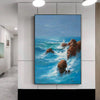Wall art painting | Large paintings | Large painting canvas F28-10