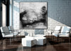 Black and white contemporary art | Black white art paintings F30-10