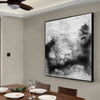 Black and white contemporary art | Black white art paintings F30-2