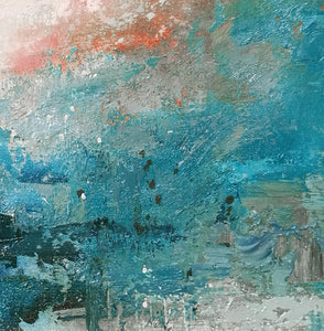 Oil on canvas | Abstract expressionism art | Abstract art paintings F32-4