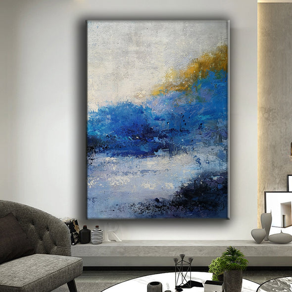 Oil on canvas | Abstract expressionism art | Abstract art paintings F34-10