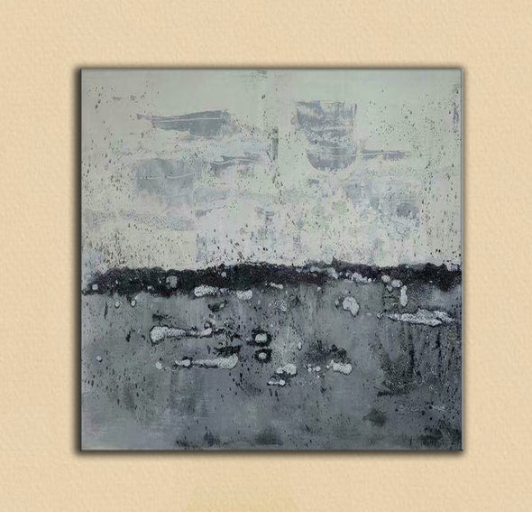 Abstract landscape painting | Modern canvas art | Canvas artwork F35-6