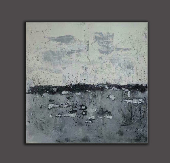 Abstract landscape painting | Modern canvas art | Canvas artwork F35-7