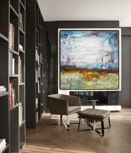 Abstract canvas | Gallery art | Original oil paintings F39-1