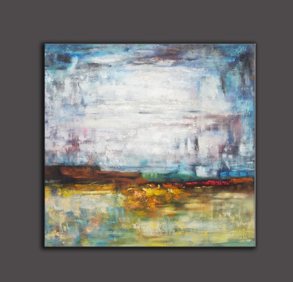 Abstract canvas | Gallery art | Original oil paintings F39-5