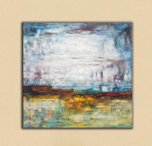 Abstract canvas | Gallery art | Original oil paintings F39-6