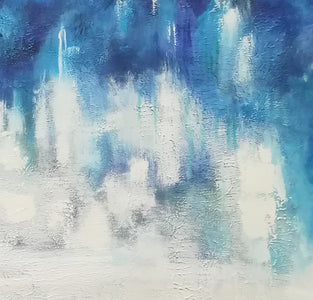 Abstract oil painting | Abstract landscape painting | Modern canvas art F40-4