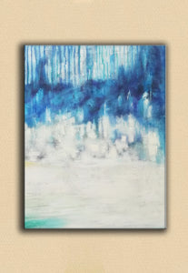 Abstract oil painting | Abstract landscape painting | Modern canvas art F40-6