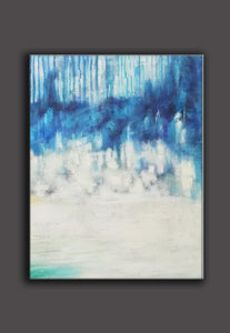 Abstract oil painting | Abstract landscape painting | Modern canvas art F40-7