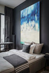 Abstract oil painting | Abstract landscape painting | Modern canvas art F40-8