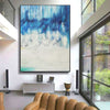 Abstract oil painting | Abstract landscape painting | Modern canvas art F40-2