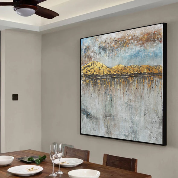 Large oil canvas | Extra large modern wall art F43-2