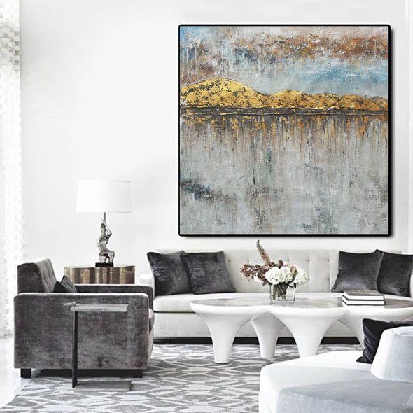 Large oil canvas | Extra large modern wall art F43-7