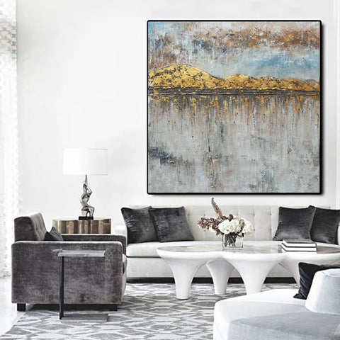 Image of Modern art artists | Large oil painting | Large abstract art F43-1