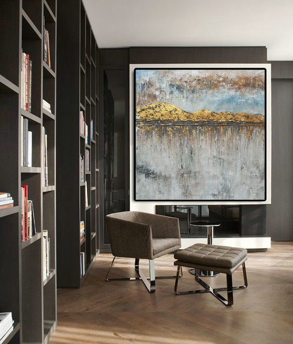 Large oil canvas | Extra large modern wall art F43-8