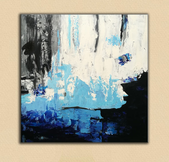 Acrylic abstract art | Contemporary canvas art | Original oil paintings F46-3