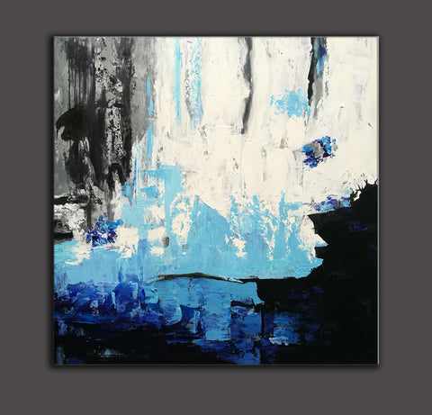 Acrylic abstract art | Contemporary canvas art | Original oil paintings F46-4
