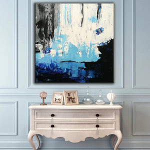 Acrylic abstract art | Contemporary canvas art | Original oil paintings F46-1