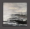 Large black and white painting | Black and white abstract paintings on canvas F47-4