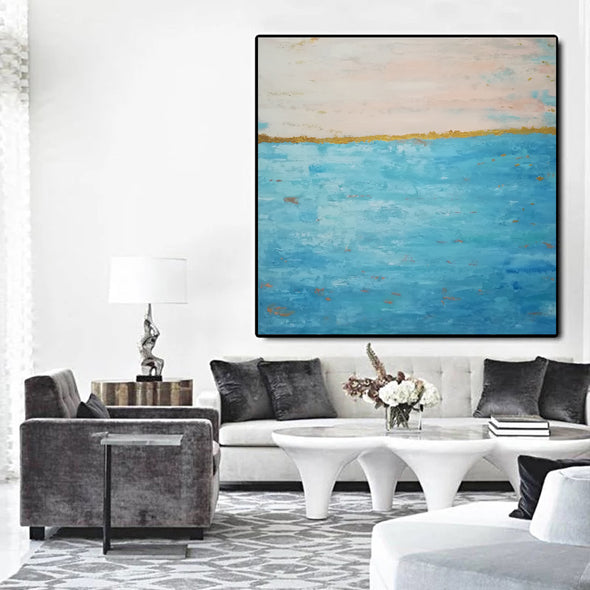 Marge landscape oil paintings | Modern abstract painting F48-6