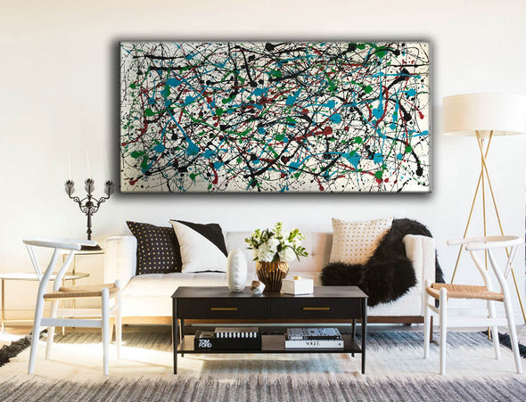 Abstract expressionism art | Abstract art paintings F66-1
