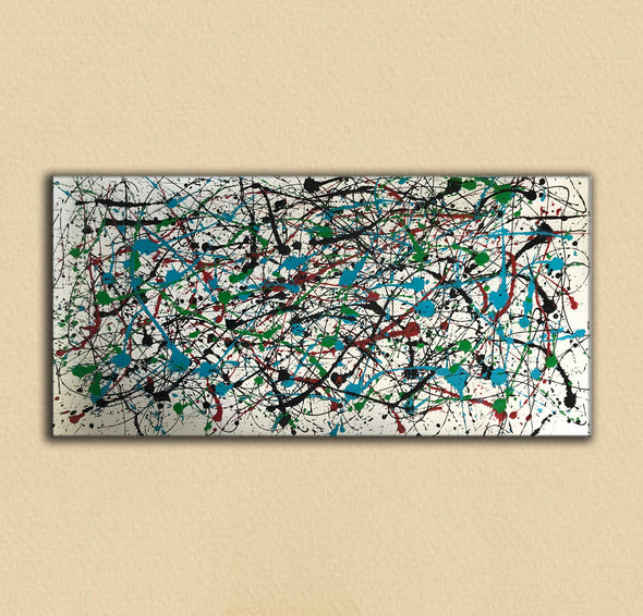Abstract expressionism art | Abstract art paintings F66-5