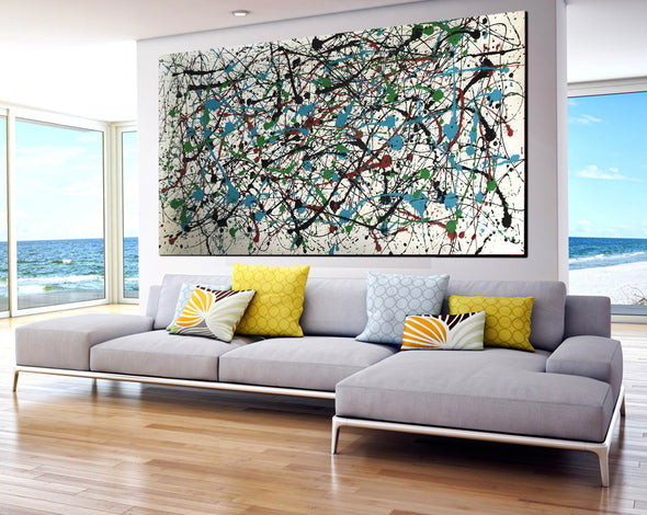 Abstract expressionism art | Abstract art paintings F66-8